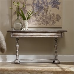 Hooker Chatelet Skinny Console Table in White
