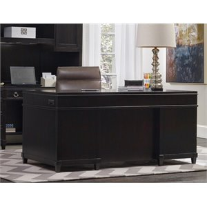 Hooker Furniture Kendrick Junior Executive Desk in Brown