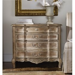 Hooker La Maison 3 Drawer Lateral File Cabinet in Taupe