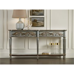 Hooker Furniture Gilded Console Tabe in Gray