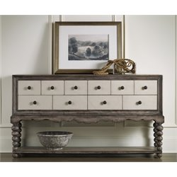 Hooker Hall Console Table in Medium Wood
