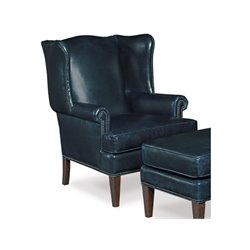 Hooker Furniture Balmoral Maurice Club Chair in Blue