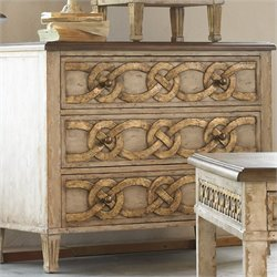 Hooker Furniture Three-Drawer Accent Chest with Drop Front Top Drawer