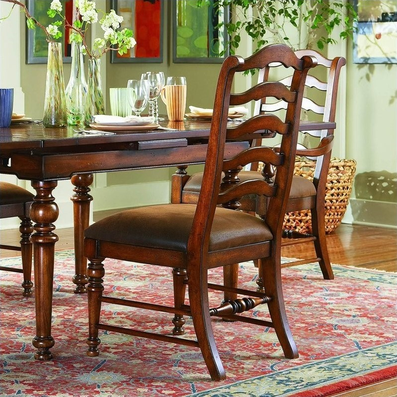 Hooker Furniture Waverly Place Ladderback  Dining Chair in Cherry