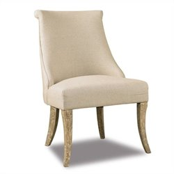 Hooker Furniture Sanctuary Swayback Chair in Natural