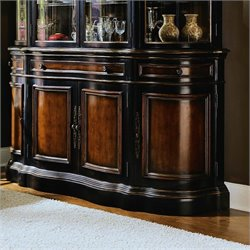 Hooker Furniture Preston Ridge Buffet in Cherry/Mahogany Finish