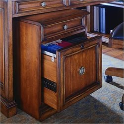 Hooker Furniture Brookhaven Mobile File in Cherry Finish