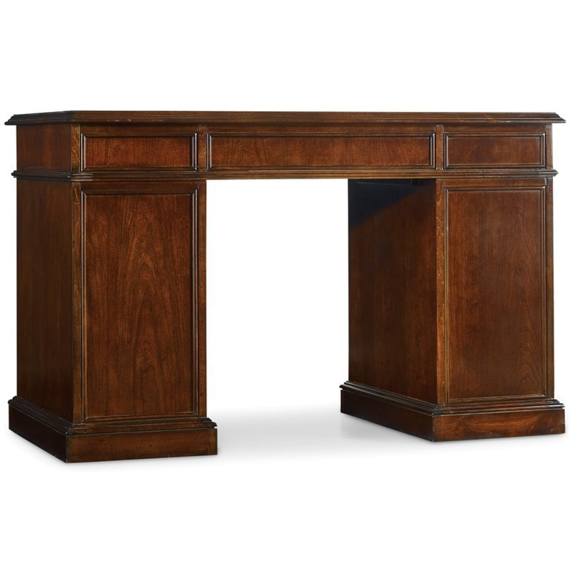 Bow Front Knee-Hole Desk