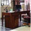 ADD TO YOUR SET: Hooker Furniture Danforth Executive Leg Desk in Rich Medium Brown