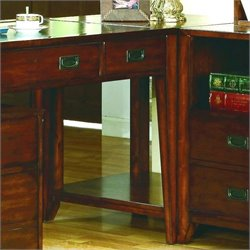 Hooker Furniture Danforth Corner Unit in Rich Mediium Brown