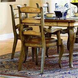 Hooker Furniture Vineyard Ladderback Arm Dining Chair
