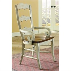 Hooker Furniture Summerglen Ladderback Arm Dining Chair