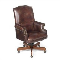 Hooker Furniture Seven Seas Swivel Tilt Armchair in Campaign
