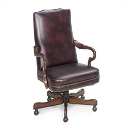 Hooker Furniture Seven Seas Chair in Egyptian Burgundy