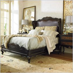 Hooker Furniture Grandover Upholstered Shelter Bed - King