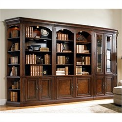 Hooker Furniture European Renaissan II Wall Bookcase Unit