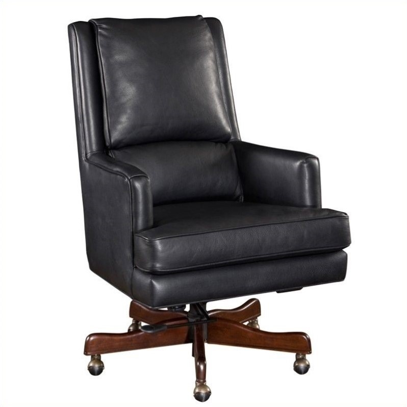 Hooker Furniture Seven Seas Executive Office Chair in Carilion Tune