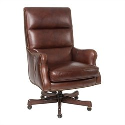 Hooker Furniture Seven Seas Executive Office Chair in Halona Native