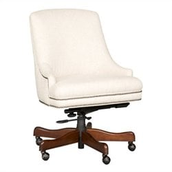 Hooker Furniture Seven Seas Office Chair in Chateau Linen