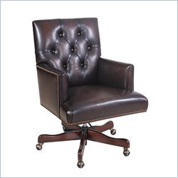 Hooker Furniture Seven Seas Arm Chair in Valor Chocolate