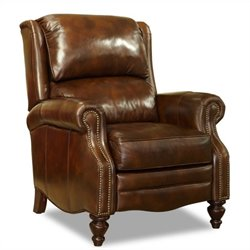 Hooker Furniture Seven Seas Leather Recliner in Al Fresco Theatre