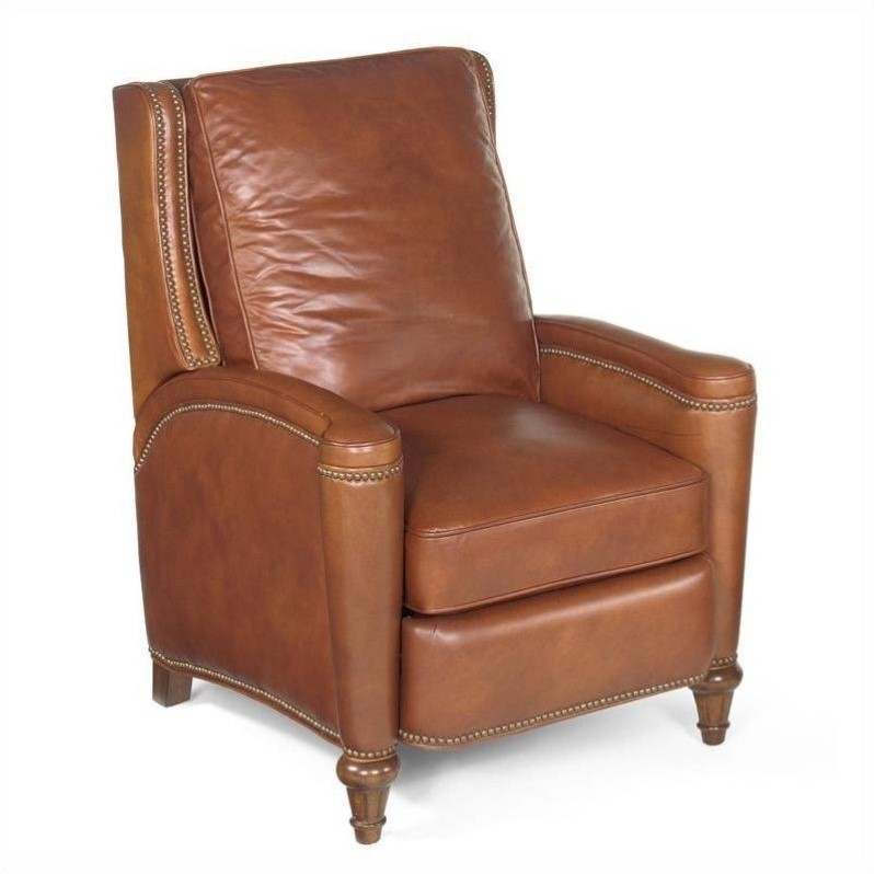 Hooker Furniture Seven Seas Leather Recliner Chair in Valencia Toro