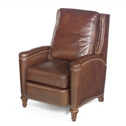 Hooker Furniture Seven Seas Leather Recliner Chair in Valencia Arroz