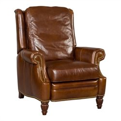 Hooker Furniture Seven Seas Leather Recliner Chair in Tiandi Jinse