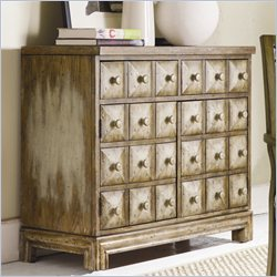 Hooker Furniture Sanctuary Blockfront TV Accent Chest in Sand Dune