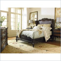 Hooker Furniture Grandover Shelter Bed 5 Piece Bedroom Set
