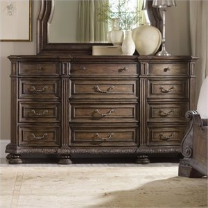Hooker Furniture Rhapsody Twelve Drawer Triple Dresser