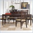 ADD TO YOUR SET: Hooker Furniture Ludlow Rectangle Dining Table with Leaf in Walnut