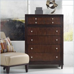 Hooker Furniture Ludlow Five-Drawer Chest in Walnut