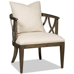 Hooker Furniture Brookhaven Upholstered Accent Chair in Cherry