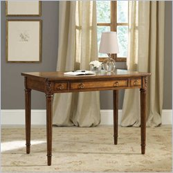 Hooker Furniture 42 Inch Writing Desk in Medium Brown