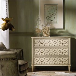Hooker Furniture Melange Raised Lattice Front Chest