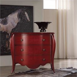 Hooker Furniture Melange Caliente Chest in Red