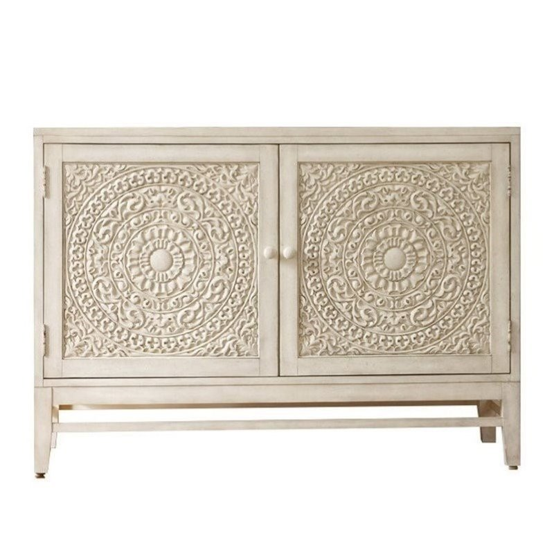 Hooker Furniture Melange Lacy Carved Front Matisette Accent Chest