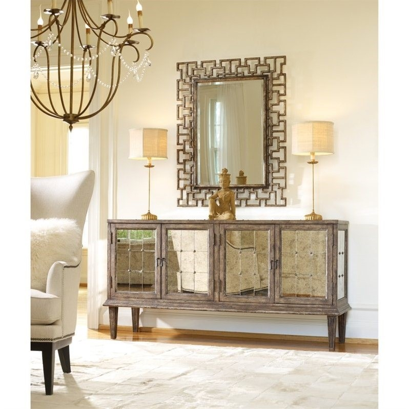 Hooker Furniture Melange Devera Mirrored Console Table