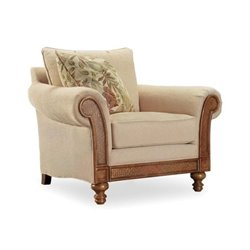 Hooker Furniture Windward Upholstered Chair in Dark Honey