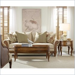 Hooker Furniture Windward 3 Piece Coffee Table Set in Light Brown Cherry