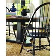 Hooker Furniture Sanctuary WindsorArm Dining Chair in Ebony