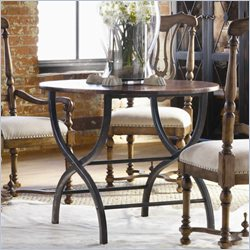 Hooker Furniture Sanctuary 36in Round Bistro Table in Copper