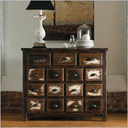 Hooker Furniture Hampton Court Six-Drawer Chest in Dark Walnut
