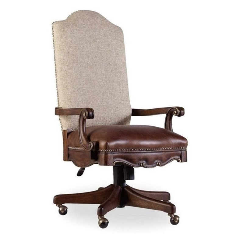 Hooker Furniture Adagio Upholstered Tilt Swivel Office Chair