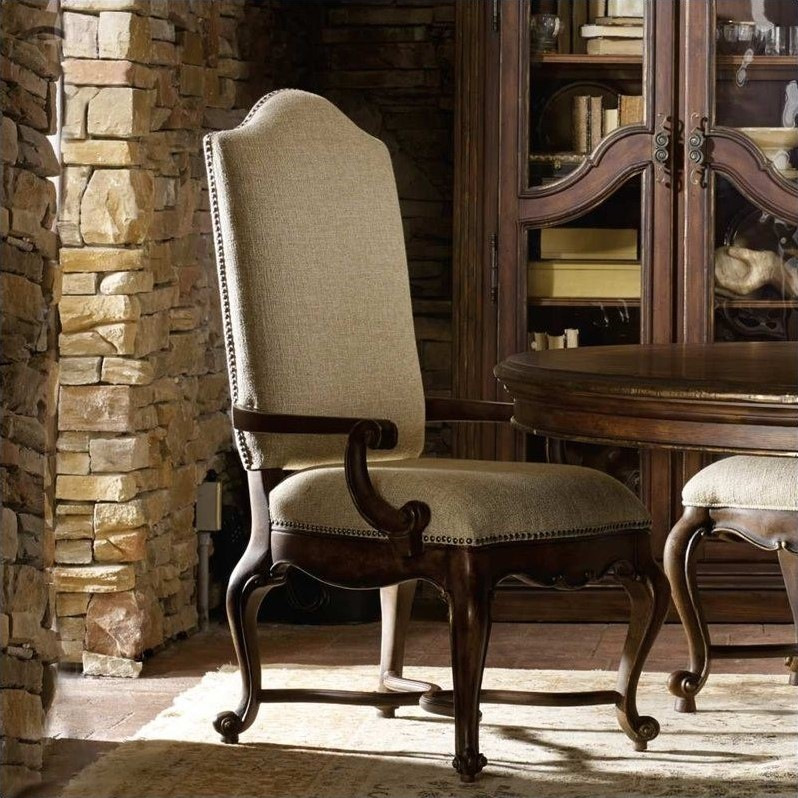 Hooker Furniture Adagio Upholstered Dining Arm Chair