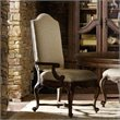 ADD TO YOUR SET: Hooker Furniture Adagio Upholstered Dining Arm Chair