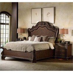 Hooker Furniture Adagio Panel Bed 3 Piece Bedroom Set