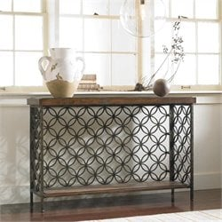 Hooker Furniture Adagio Console Table with Patterned Iron