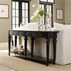 Hooker Furniture Sutherland Six Drawer Thin Console Table